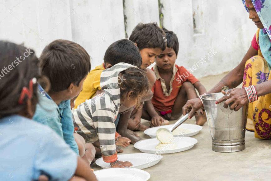 Help poor peoples in India